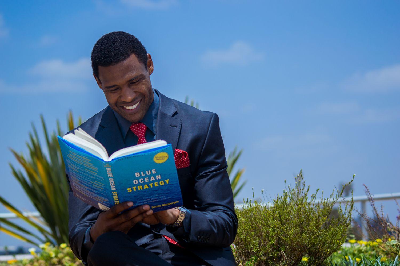 One Of Muli Musyoka'S Best Book Is The Blue Ocean Strategy
