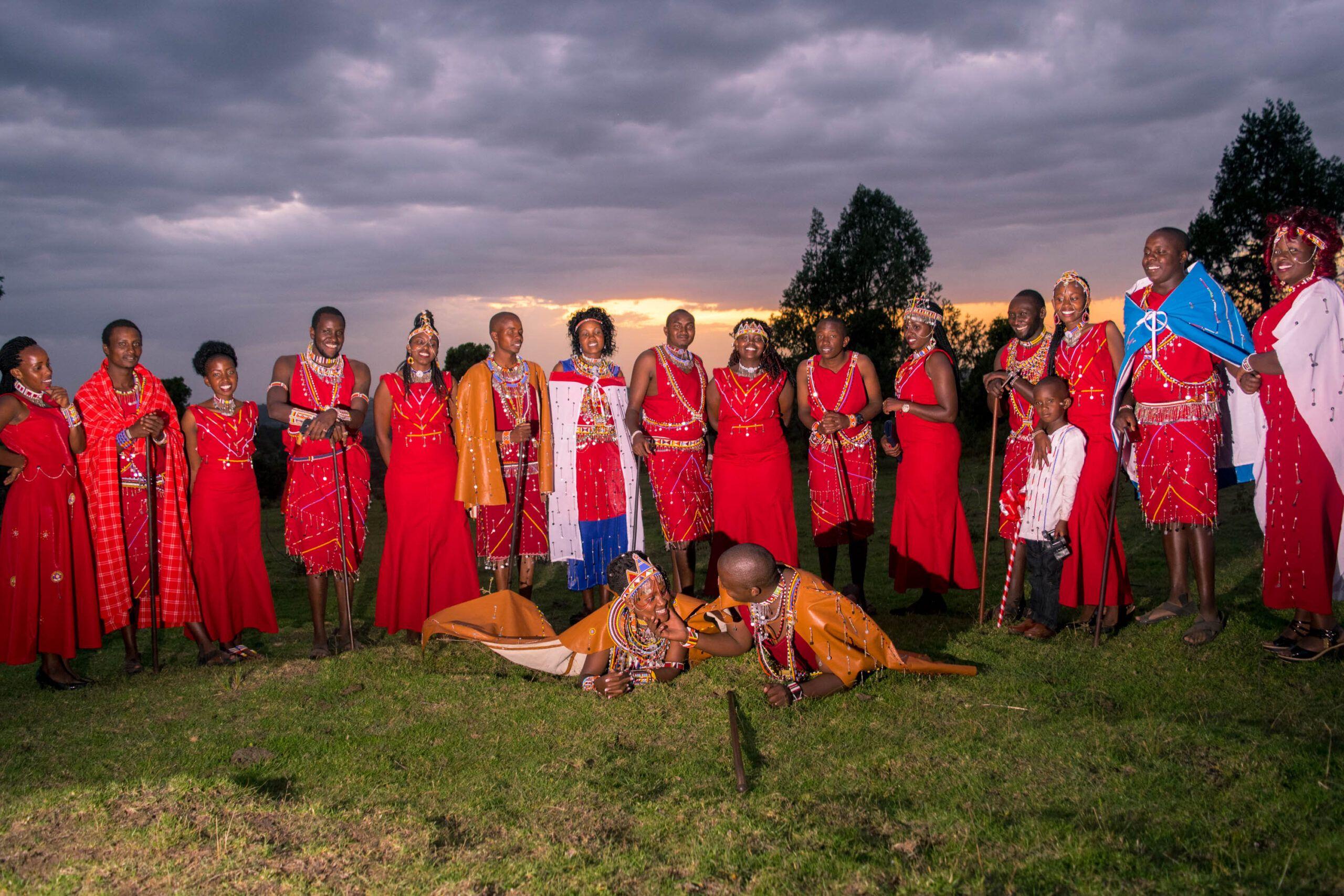 A Maasai Wedding
