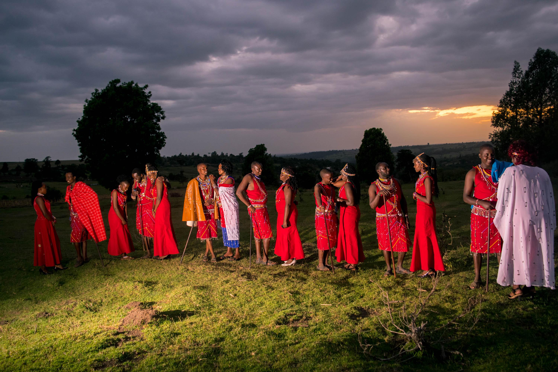 Chitchat In A Maasai Wedding