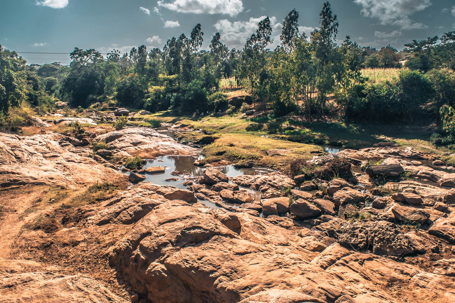 A River In Kitui County