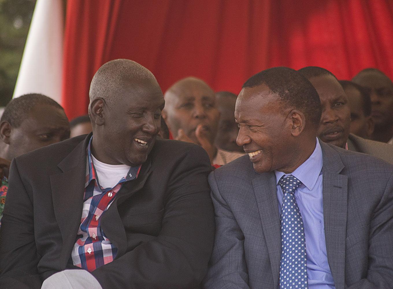 Joseph Nkaiserry & Ole Ntutu