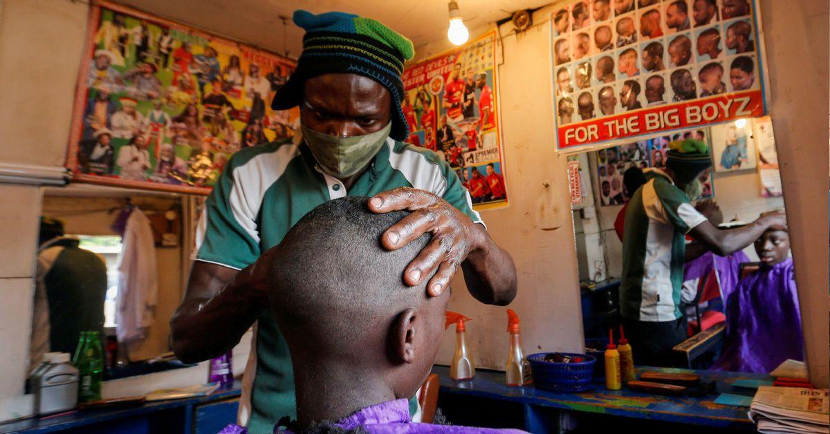 Real Men Go To Kinyozis Not Barbershops